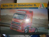 Airfix kits VOLVO FH-16 Globetrotter XL by ITALERI model kit New 1/24