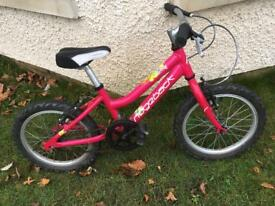 "Ridgeback MX16 girls 16"" bike"