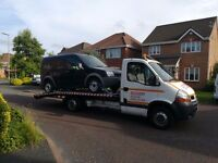 CJM recovery service. Local pick ups from £30. Based in Liverpool