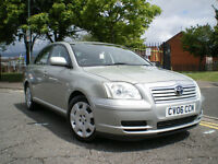 *** Toyota Avensis 1.8 VVT-i T3 5DR * LOW MILEAGE ONLY 62K*FULL SERVICE HISTORY* 3 MONTHS WARRANTY