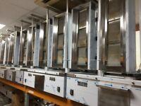 GAS 4 BURNER DONER KEBAB MACHINE NEW COMMERCIAL CATERING KITCHEN EQUIPMENT RESTAURANT TAKEAWAY