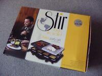 Raclette/Swiss Grill Serves 8 Fantastic for Entertaining
