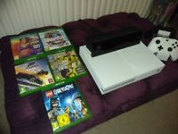 Xbox One S 500GB - Kinect, Headset, 2 Controllers, 5 Games, (with Lego dimensions starter pack)