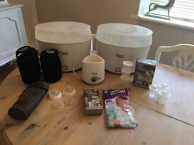 Tommie Tippee Steriliser Bottle Warmer And Accessories