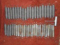 44 Trampoline springs 7 inch (new)