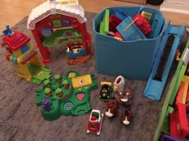 Toot toot VTech train and farm set
