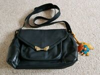 Great condition black Nica bag with bag charm
