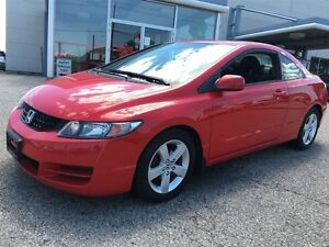 2010 Honda Civic LX SR Coupe 65KM'S Sunroof Alloys RearSpoiler Kitchener / Waterloo Kitchener Area image 4