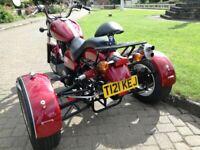 2002 VICTORY v92sc 1507cc TRIKE built by TrikeShopUK