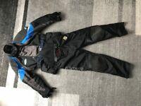Akito motorbike jacket set, trousers. Armour all round. Medium size (M) .