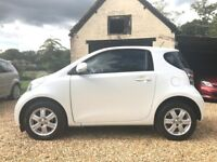 Pearl White Toyota iQ 2 with Superb Service History and a NEW MOT and Service Keyless Entry & Start