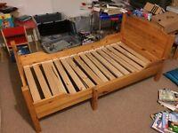 Ikea extendable toddler children's bed