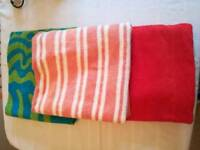 Beach / Swim towels and bag