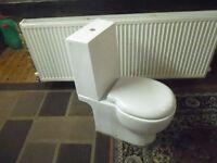 close coupled Geberit toilet