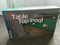Table top pool