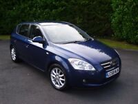 DEC 2008 KIA CEE'D , 1 OWNER , LOW MILES , FKSH
