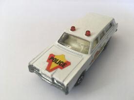 Matchbox Mercury Police Car No. 55