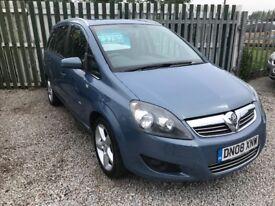 Vauxhall Zafira 1.9 cdti sri *7 SEATER-12 MOT+3 MONTH WARRANTY*