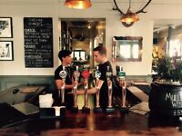 Great bar or floor staff required for Chiswick pub The Roebuck