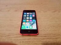 IPHONE 5C 16GB PINK VODAFONE WITH CHARGER (GOOD CONDITION)
