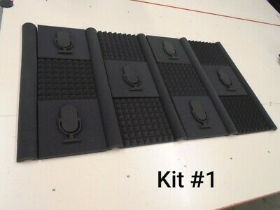 "1-1/2"" Thick Acoustic Soundproofing Foam Stylish Kit overall size 36'' x 65''"