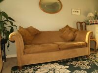 2 sofas, classic style with cushions