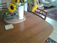GPlan dining table and 4 chairs