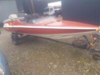 17ft speedboat forsale/swap/