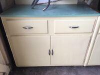 1950's kitchen units & cabinets