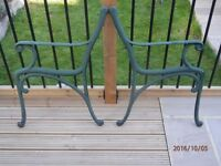 Cast Iron Bench Seat Ends