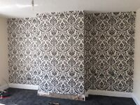 £40 PER FEATURE WALLPAPER FITTING (WALLS'R'US) WALLPAPER SPECIALISTS. CALL/TEXT ANTTIME.