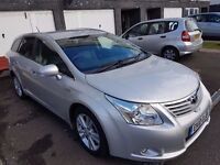 Toyota Avensis T4 Tourer 2.2 Auto Diesel, Low Miles 58000 Full Toyota History, Toyota Warranty