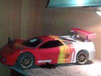 TRAXXAS NITRO R/C CAR