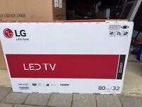 "32"" LG LED TV - never used"