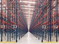 job lot redirack pallet racking 1000 bays available AS NEW( storage , shelving )