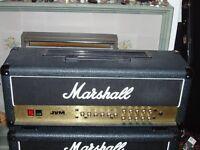 Marshall JVM205h 50 watt valve amp