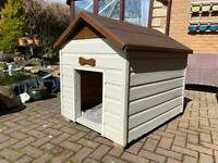 Large Kennel (can deliver) Tongue & Groove Construction. Insulated.