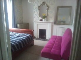 Large double bedroom with own enterence in heart of Brighton. Near station and The Lanes,london Rd.