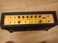 Rare vintage Simms-Watts AP100 amp head