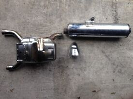 BMW 1150 GS stainless steel exhaust system