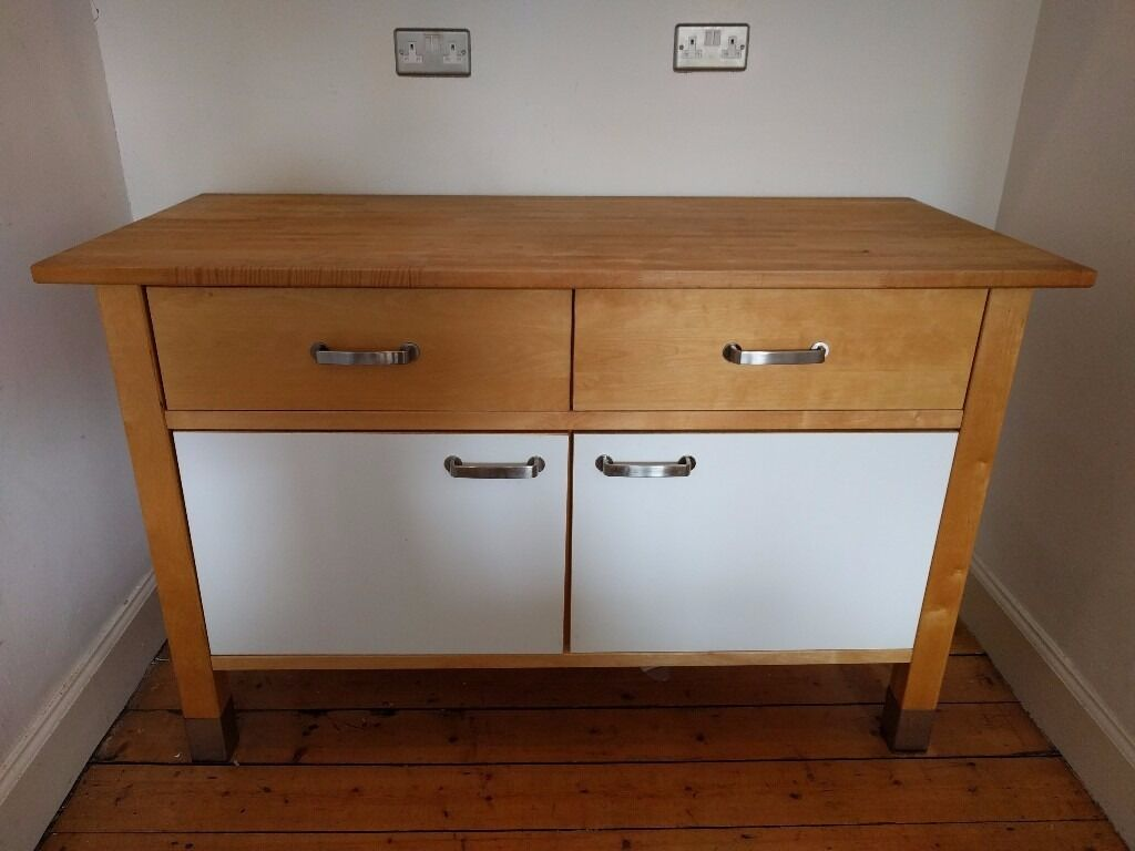Ikea varde freestanding kitchen cabinet unit in partick for Kitchen cabinets gumtree