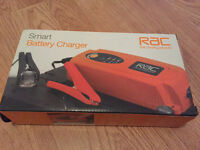 RAC car battery charger 12V