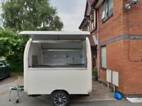 Catering Trailer Burger Van Hot Dog Ice Cream Pizza Trailer Food Cart 2800x2000x2300