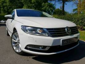 April 2015 Volkswagen Cc Gt 2.0 Tdi 140bhp BMT DSG, Only Onwer, FVSH, Lovely Example! Great Spec!