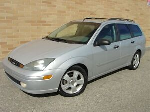 2003 Ford Focus ZTW Wagon. WOW! Only 168000 Km! Loaded!