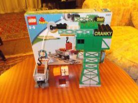 cranky lego crane