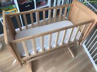 Mothercare Delux Gliding Crib