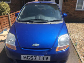 chevrolet matiz,great fuel economy and very cheap insurance. idealy for first timer