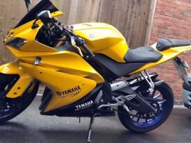 YAMAH YZF R125 16 PLATE- Excellent Condition - Rides Perfect - CAT D!