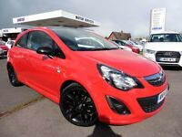Vauxhall Corsa LIMITED EDITION (red) 2014